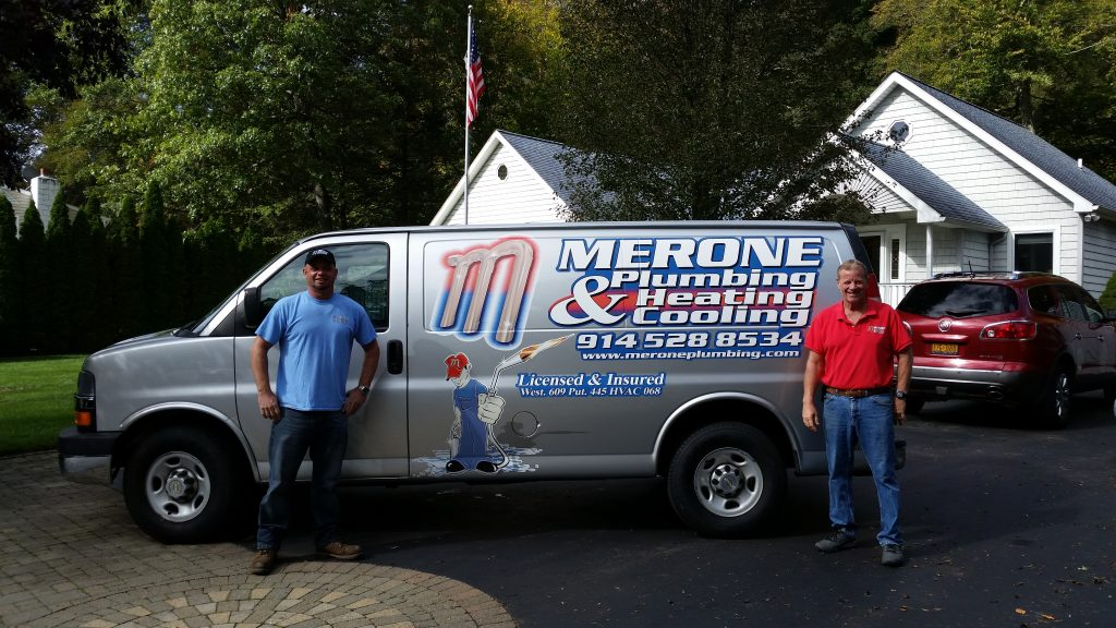 Mark and Jason Merone of Merone Plumbing